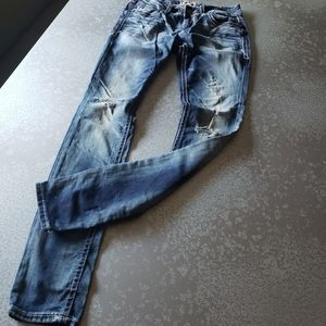 Buckle Black Fit No.53 Skinny Jeans Size: 26/34